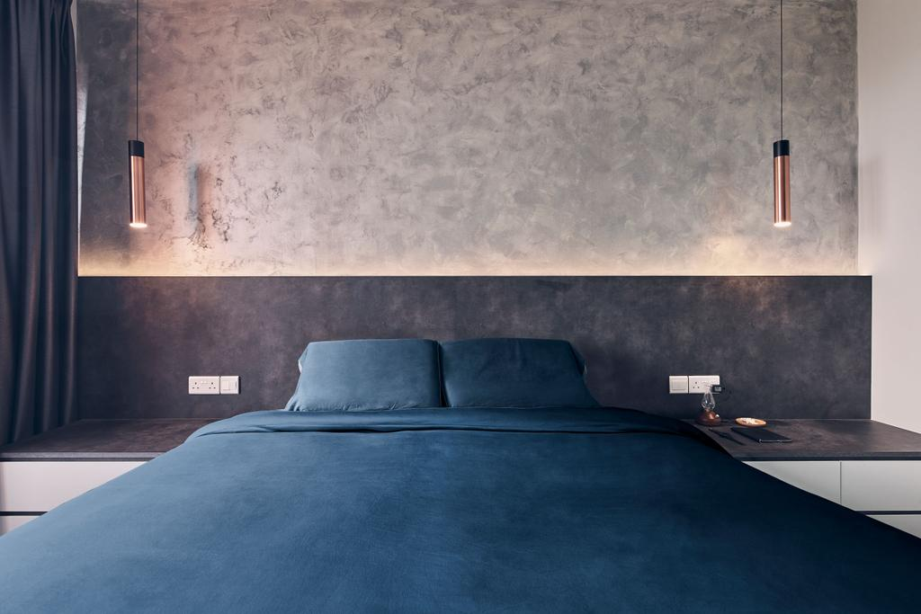 Modern, HDB, Bedroom, Clementi Avenue 3, Interior Designer, Charlotte's Carpentry, Minimalist