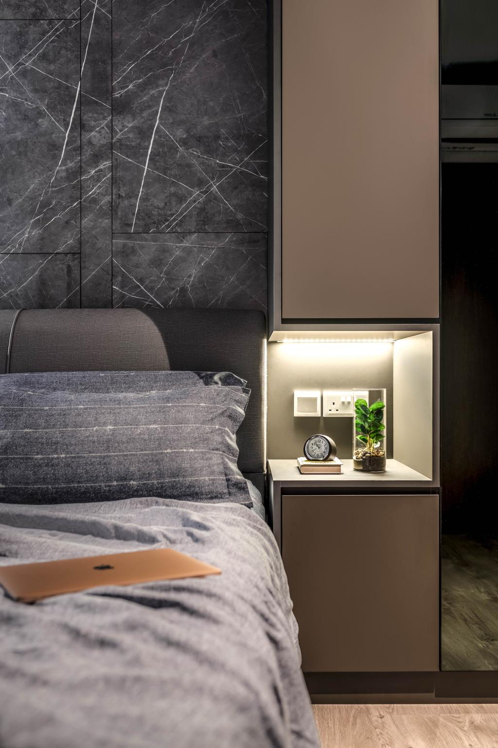 Contemporary, HDB, Bedroom, Tampines Avenue 8, Interior Designer, Weiken.com