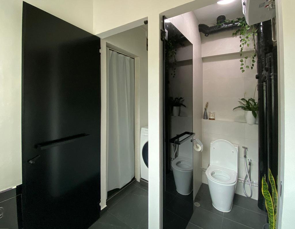 Modern, HDB, Bathroom, Serangoon Avenue 2, Interior Designer, Yonder