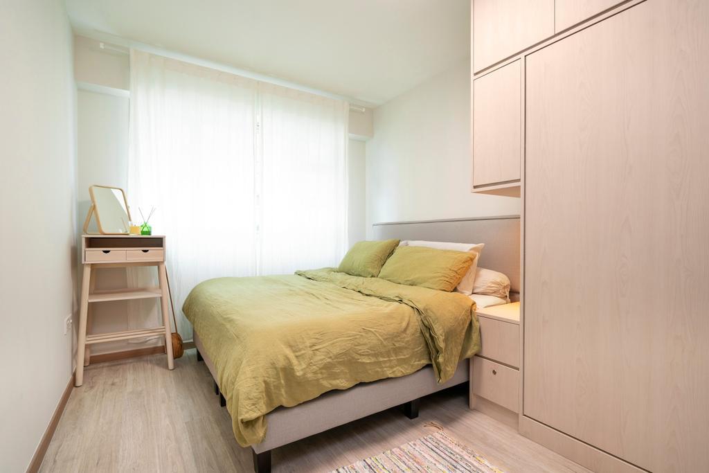 Scandinavian, HDB, Bedroom, Bedok North Road, Interior Designer, R Interior | R 设计团队
