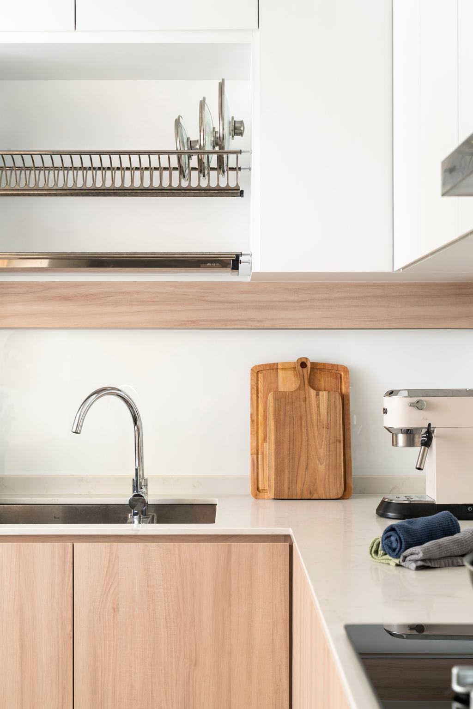Scandinavian, HDB, Kitchen, Bedok North Road, Interior Designer, R Interior   R 设计团队