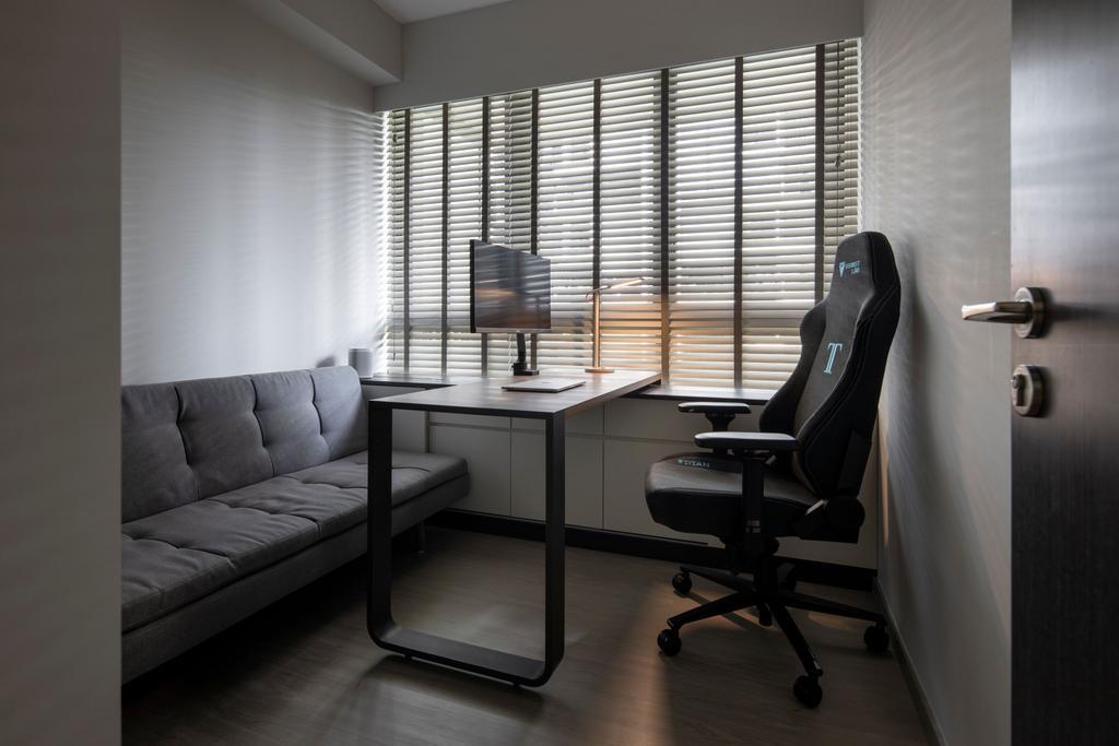Modern, Condo, Study, Inz Residences, Interior Designer, Yonder