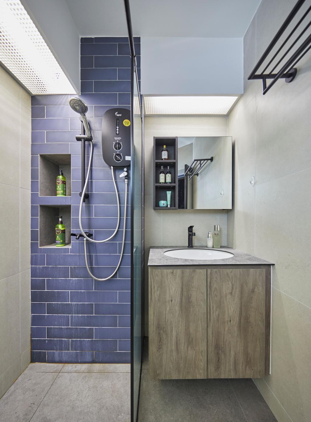 Contemporary, HDB, Bathroom, Bukit Panjang Road, Interior Designer, Ultra Space Design