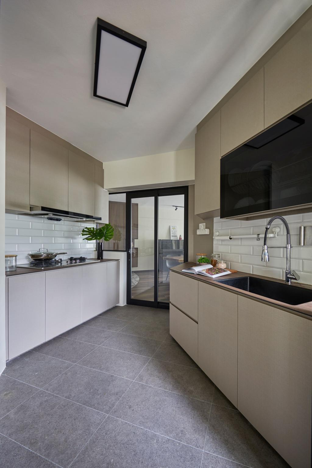 Contemporary, HDB, Kitchen, Bukit Panjang Road, Interior Designer, Ultra Space Design