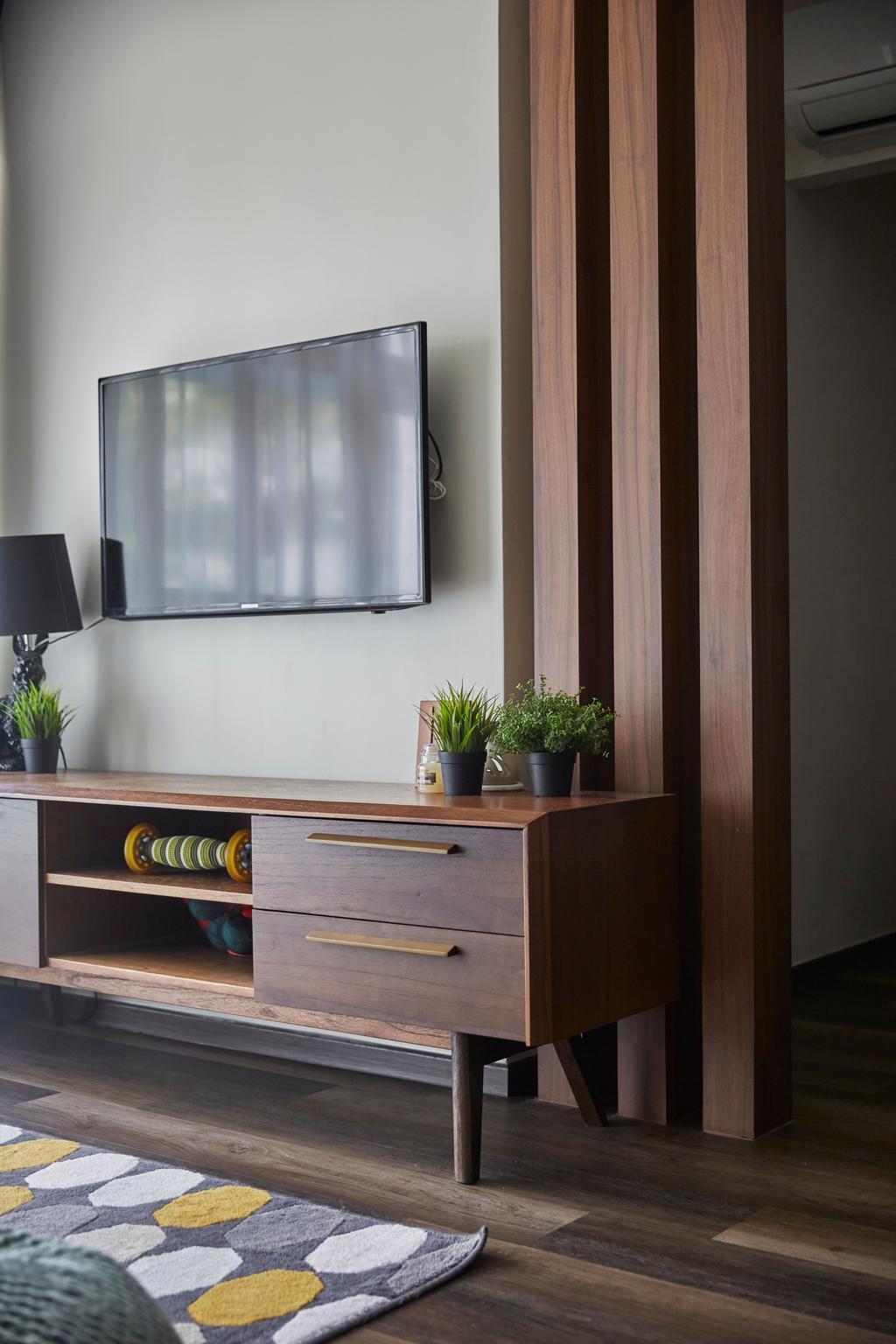Contemporary, HDB, Living Room, Bukit Panjang Road, Interior Designer, Ultra Space Design