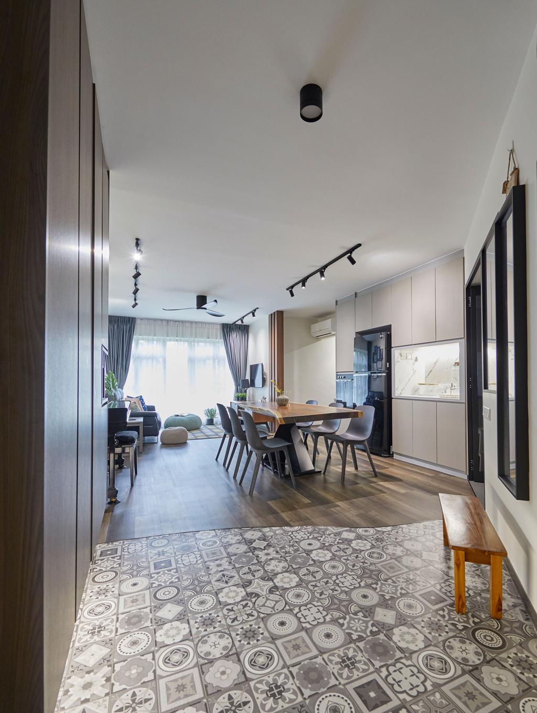 Contemporary, HDB, Bukit Panjang Road, Interior Designer, Ultra Space Design