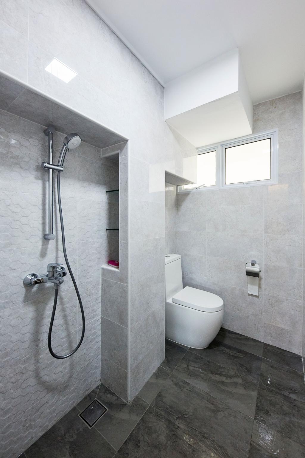 Minimalist, HDB, Bathroom, Bukit Merah Central, Interior Designer, Ultra Space Design, Contemporary