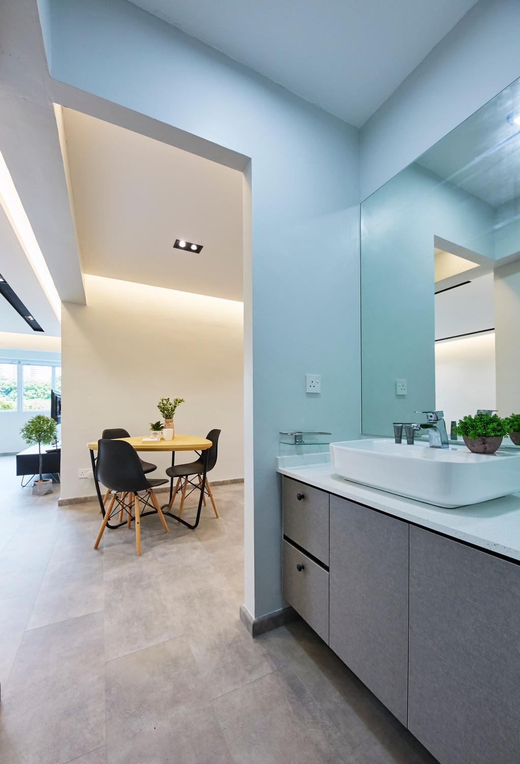Minimalist, HDB, Bukit Merah Central, Interior Designer, Ultra Space Design, Contemporary