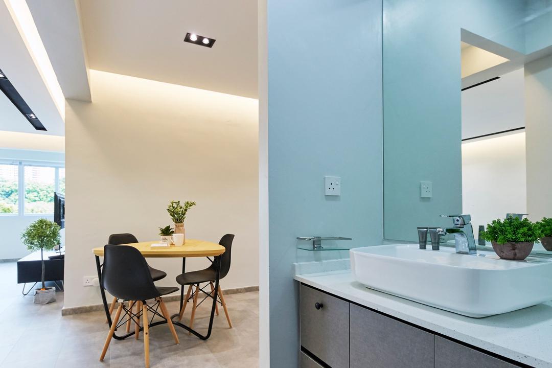 Bukit Merah Central, Ultra Space Design, Minimalistic, Contemporary, HDB