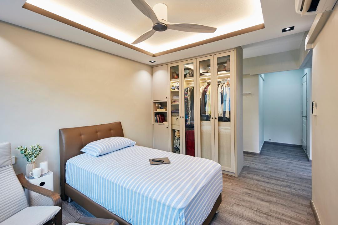 Bukit Merah Central, Ultra Space Design, Minimalistic, Contemporary, Bedroom, HDB