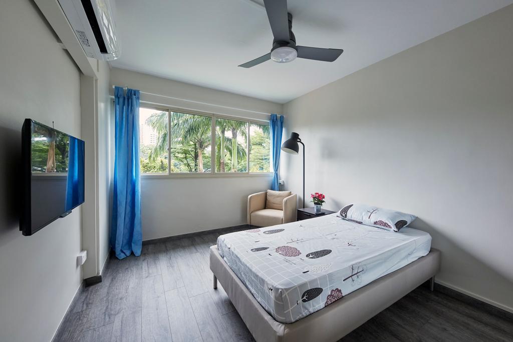 Minimalist, HDB, Bedroom, Bukit Merah Central, Interior Designer, Ultra Space Design, Contemporary