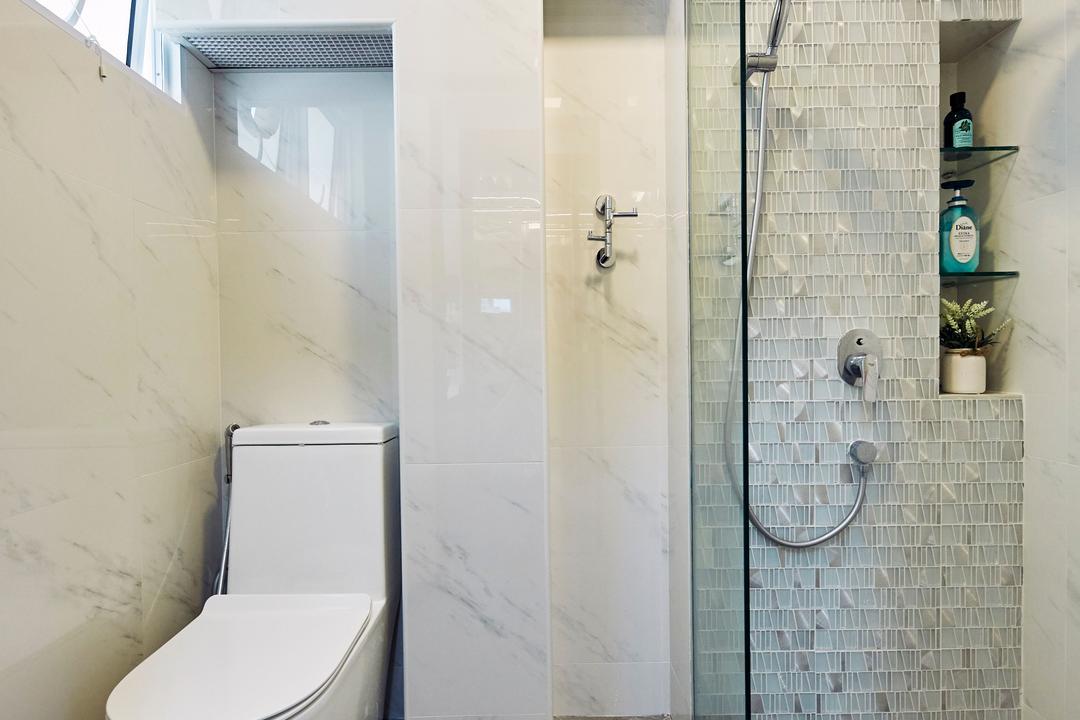 Bukit Merah Central, Ultra Space Design, Minimalistic, Contemporary, Bathroom, HDB