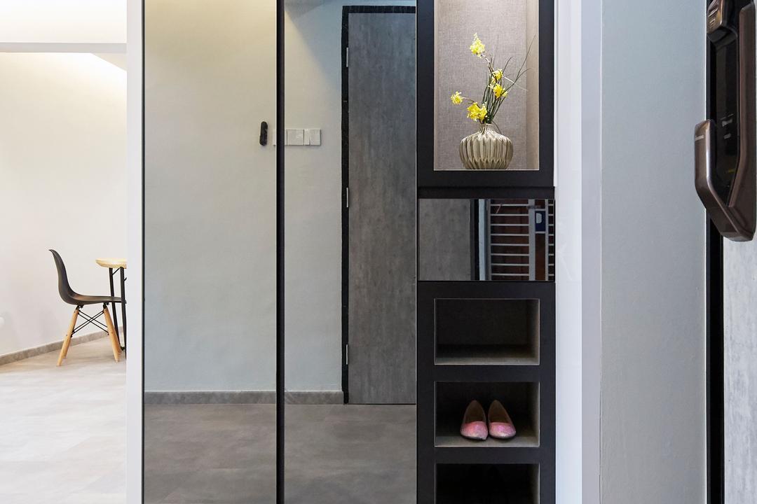 Bukit Merah Central, Ultra Space Design, Minimalistic, Contemporary, Living Room, HDB