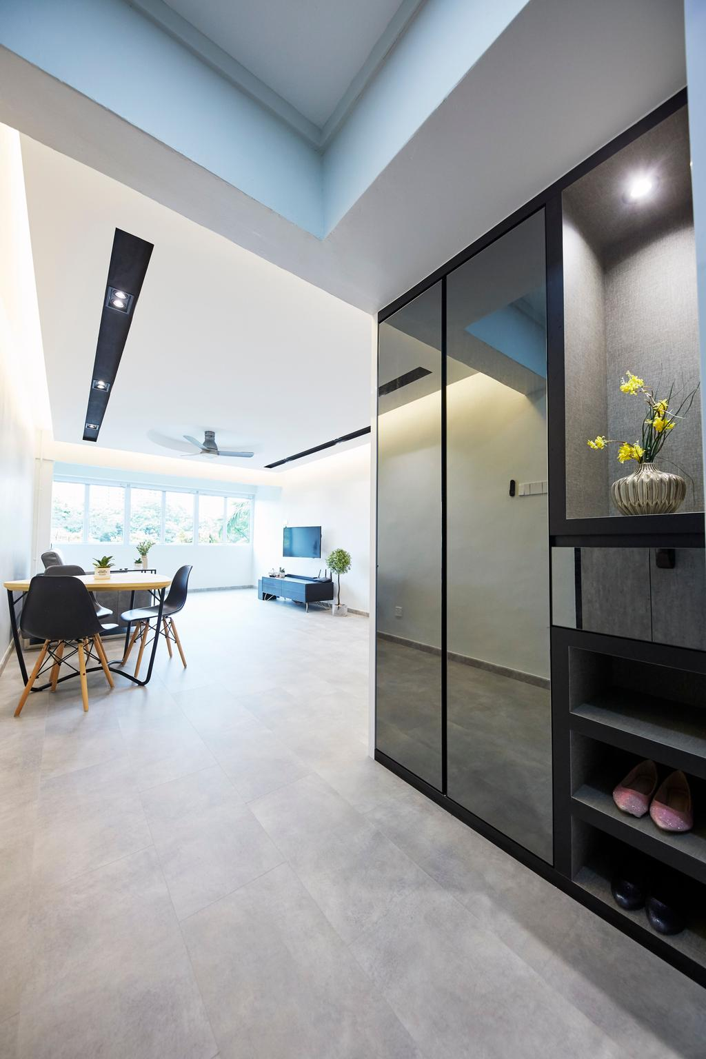 Minimalist, HDB, Living Room, Bukit Merah Central, Interior Designer, Ultra Space Design, Contemporary