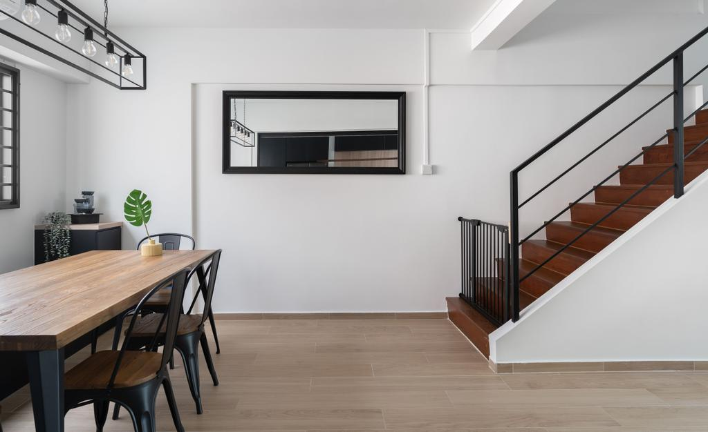 Contemporary, HDB, Serangoon Avenue 2, Interior Designer, Fifth Avenue Interior