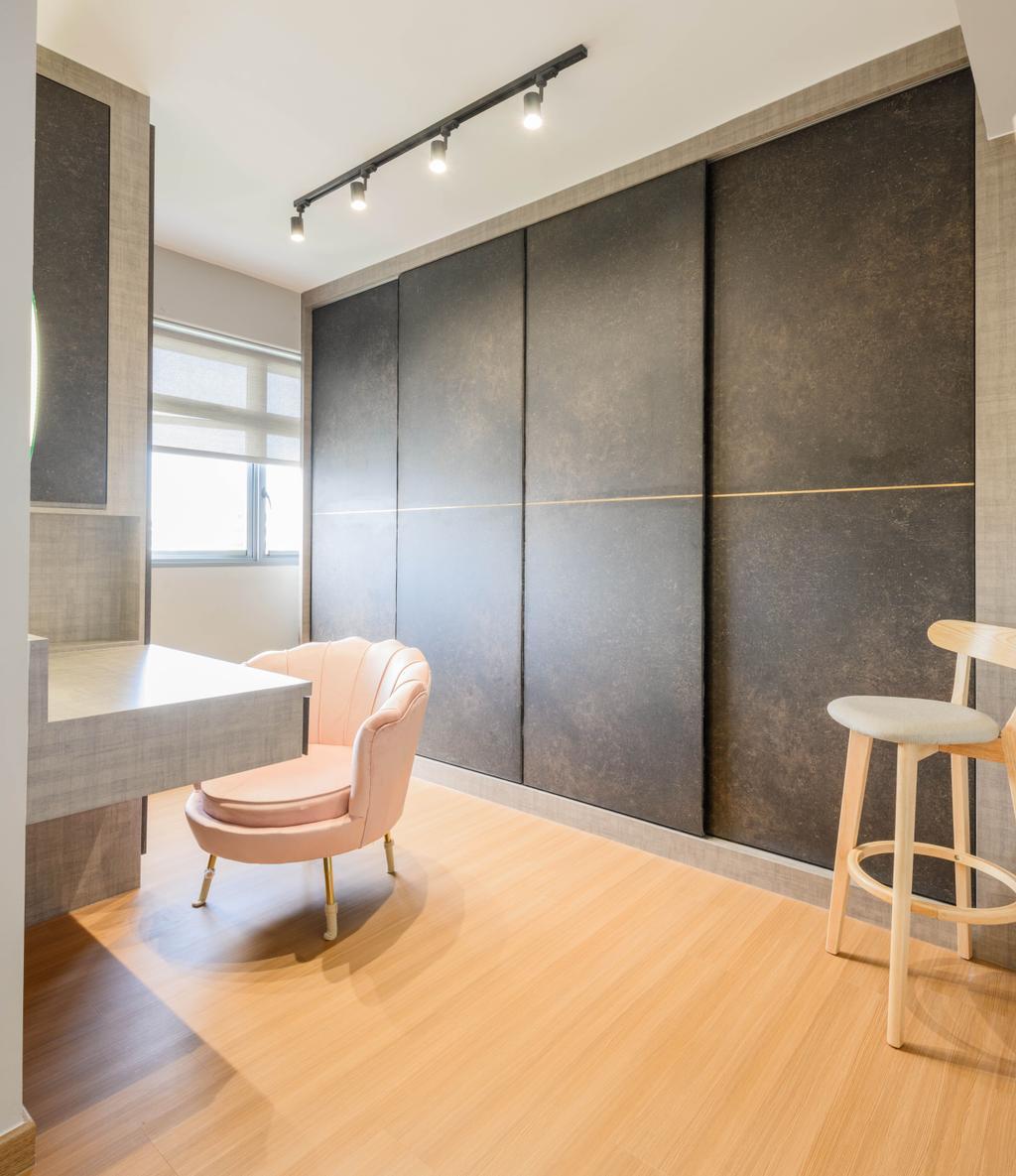 Contemporary, HDB, Tampines Street 61, Interior Designer, Interior Times