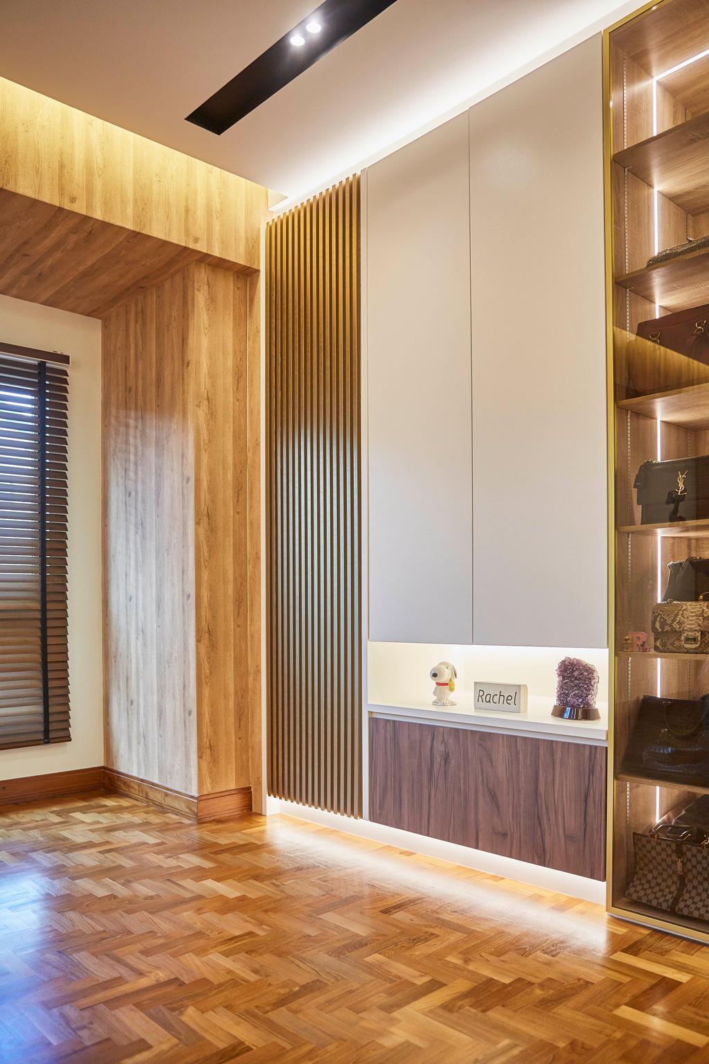 Transitional, Landed, Bedroom, Villa Verde, Interior Designer, i-Chapter