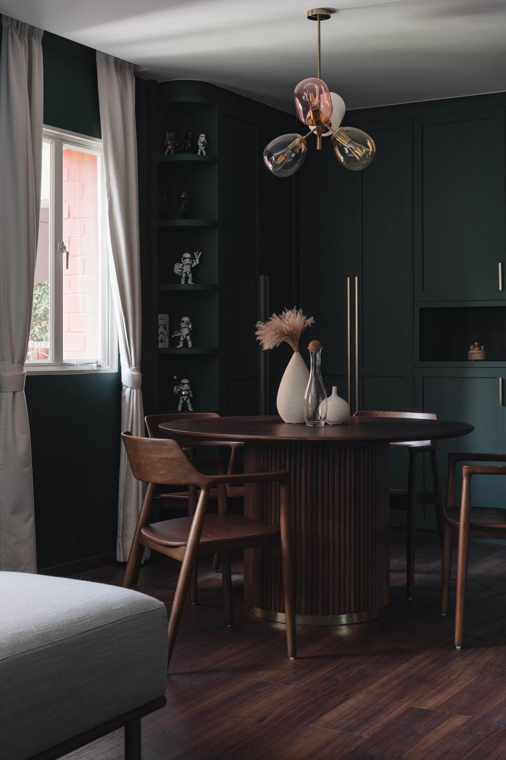 Modern, HDB, Dining Room, Redhill Lane, Interior Designer, ChengYi Interior Design, Contemporary