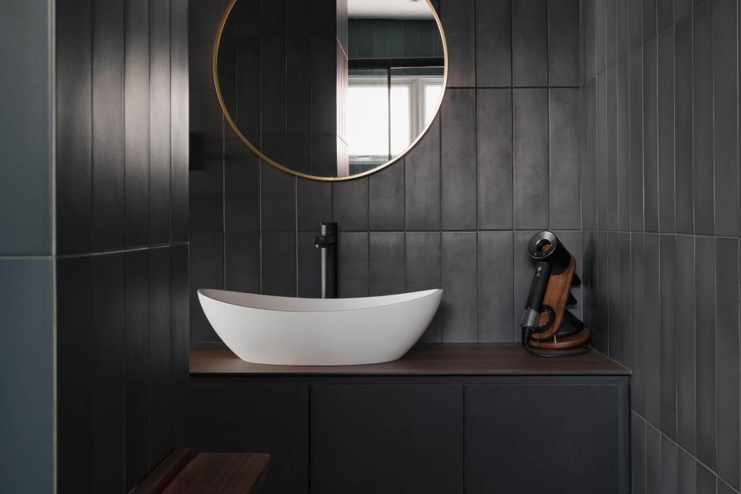Redhill Lane, ChengYi Interior Design, Modern, Contemporary, Bathroom, HDB