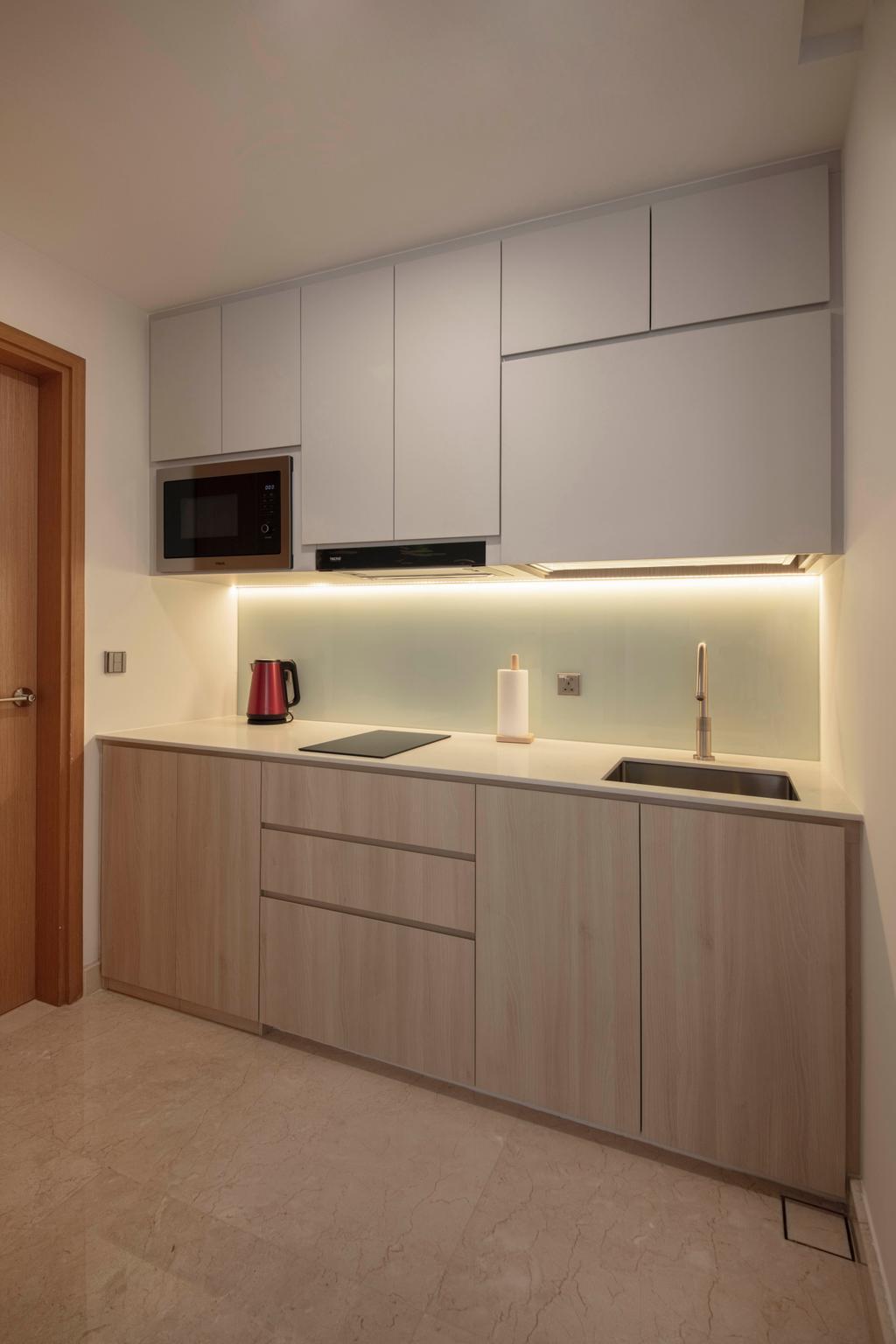 Scandinavian, Condo, Kitchen, Lucida, Interior Designer, ECasa Studio
