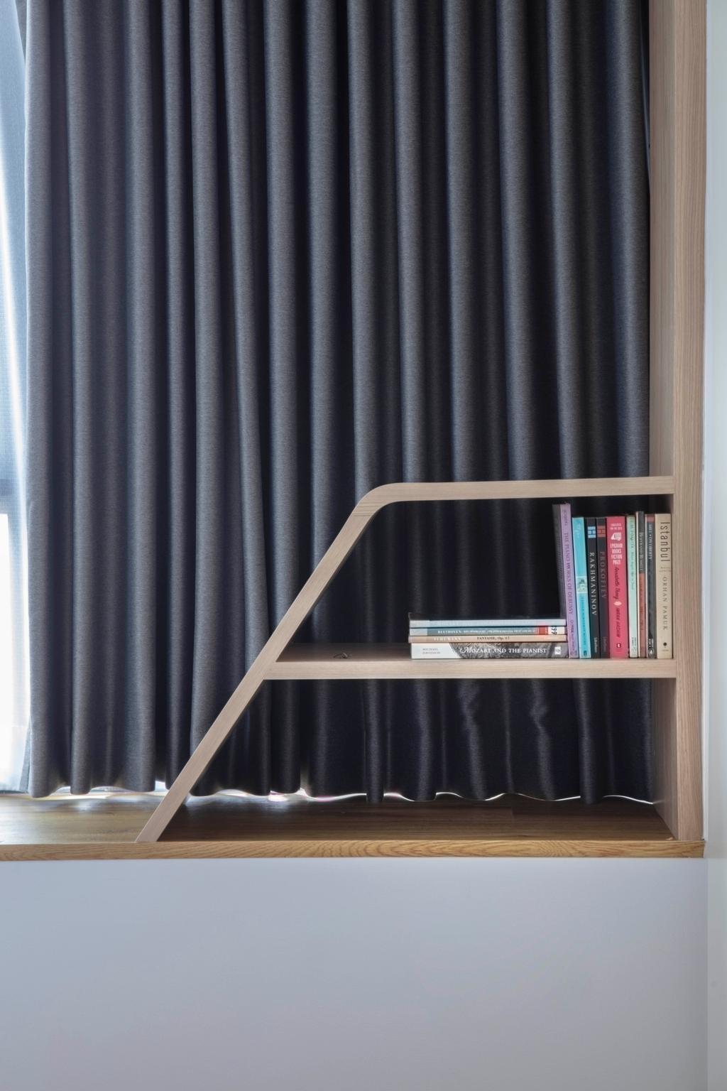 Scandinavian, Condo, Bedroom, Lucida, Interior Designer, ECasa Studio
