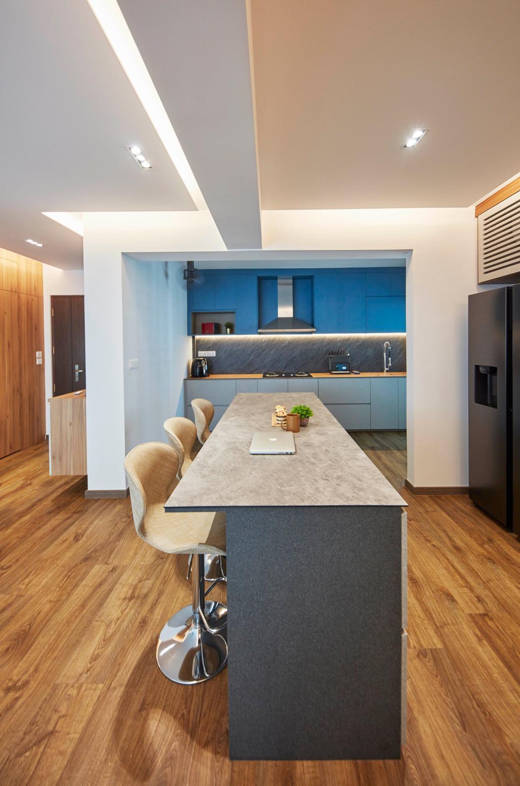 Scandinavian, HDB, Dining Room, Northshore Drive, Interior Designer, Ultra Space Design, Contemporary