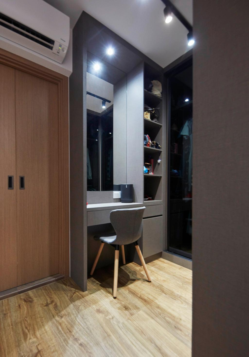 Scandinavian, HDB, Bedroom, Northshore Drive, Interior Designer, Ultra Space Design, Contemporary