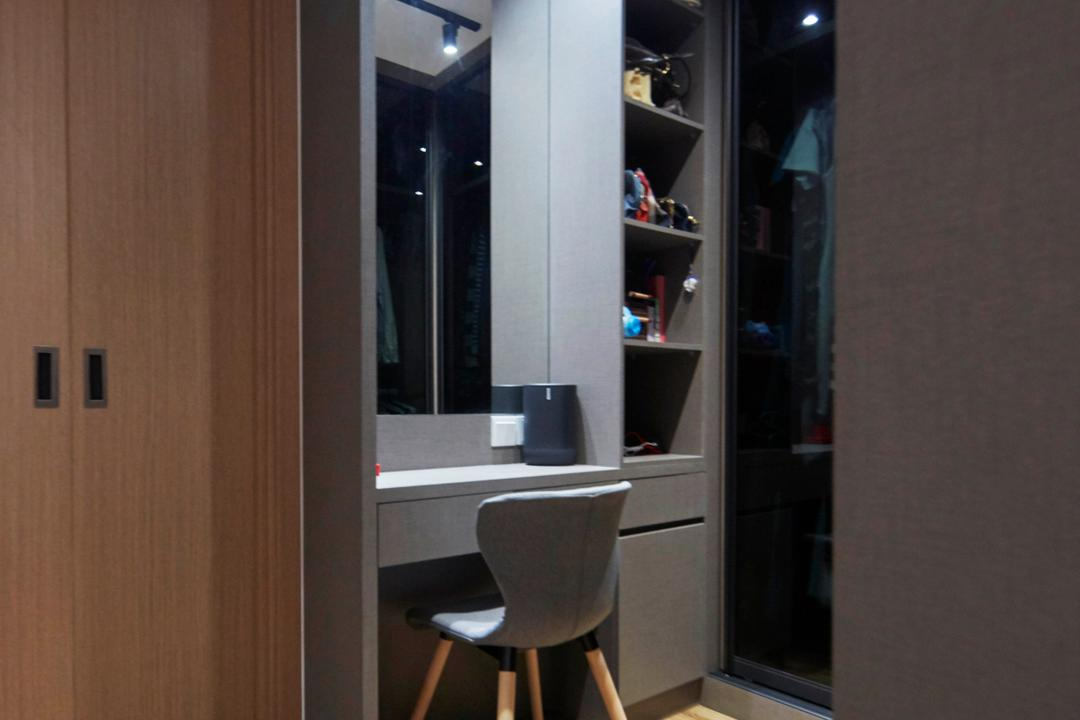 Northshore Drive, Ultra Space Design, Scandinavian, Contemporary, Bedroom, HDB