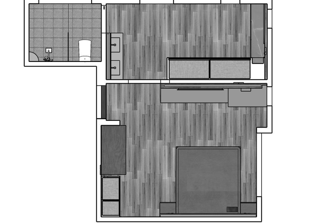 Springwood Walk, Kingsley Interior, Contemporary, Landed, Landed Floorplan, Space Planning, Final Floorplan