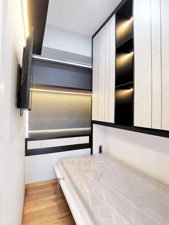 Contemporary, Condo, Bedroom, Bluwaters, Interior Designer, Granvision D'sign