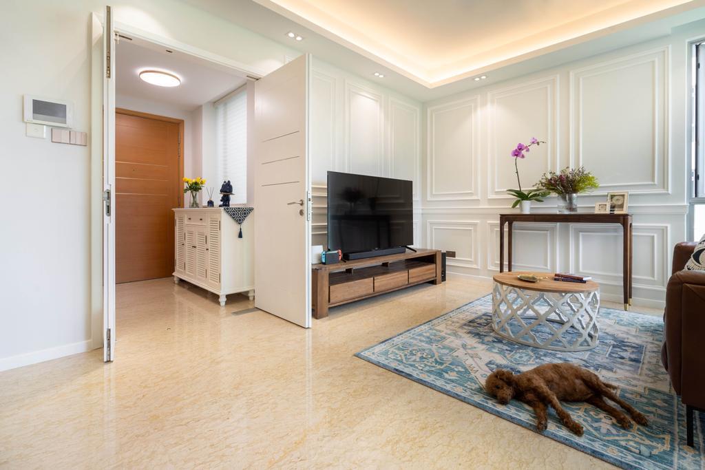 Modern, Condo, Caribbean at Keppel Bay, Interior Designer, The Makers Design Studio