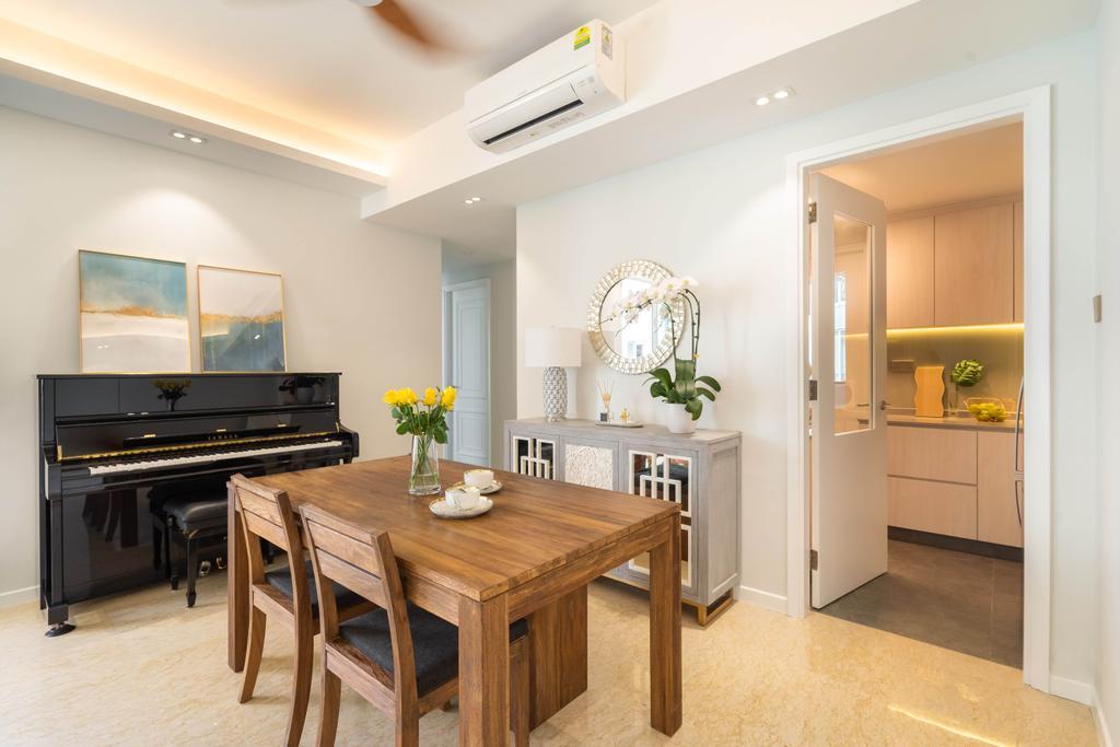 Modern, Condo, Dining Room, Caribbean at Keppel Bay, Interior Designer, The Makers Design Studio