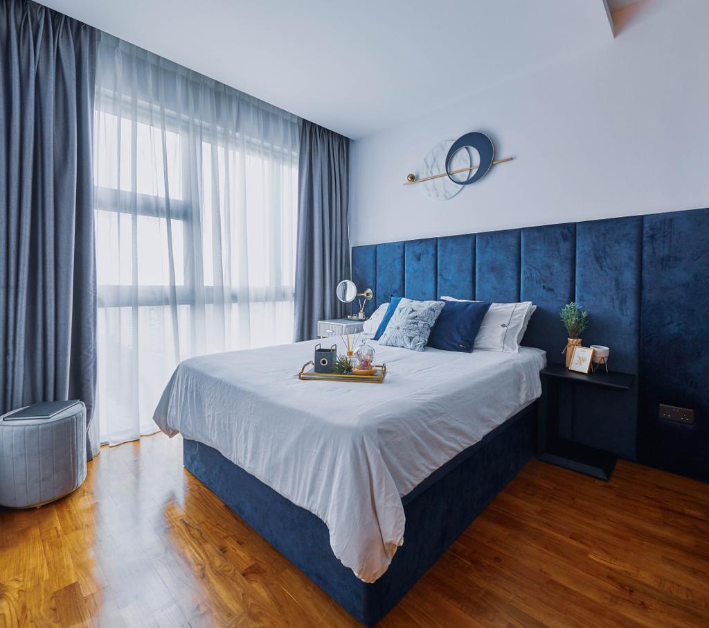 Contemporary, Condo, Bedroom, Rivertrees Residences, Interior Designer, MET Interior