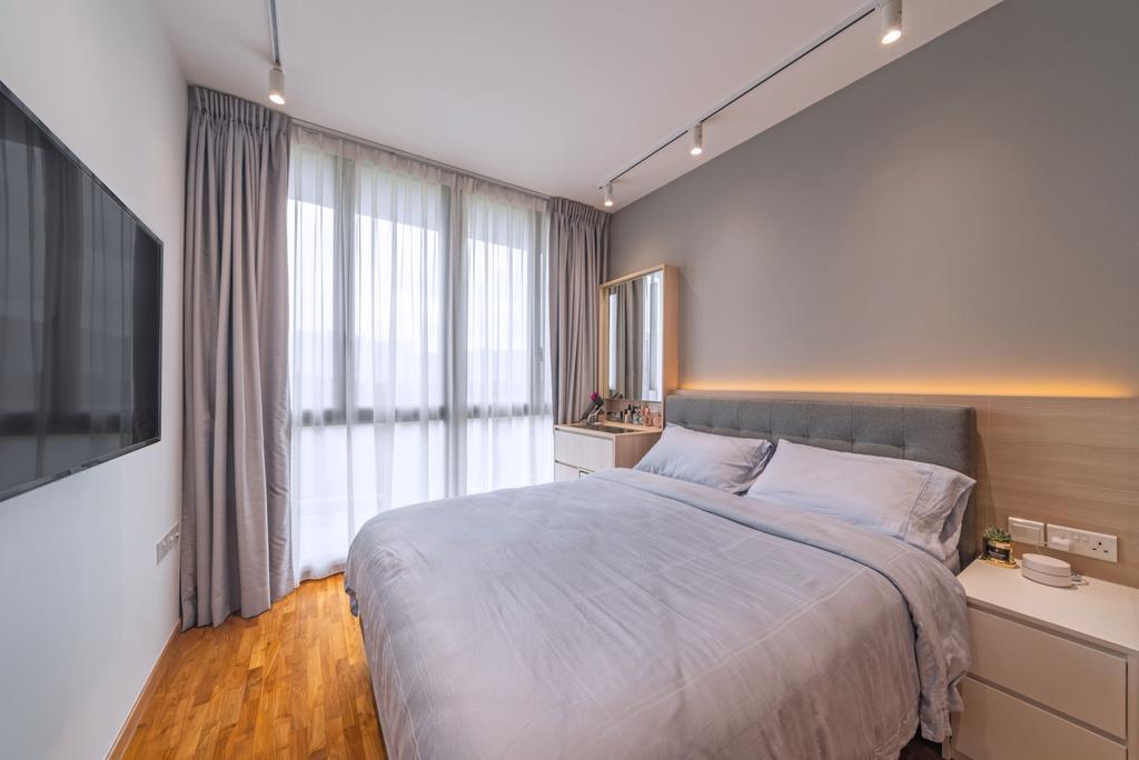 Scandinavian, Condo, Bedroom, Treasure Crest, Interior Designer, Fineline Design