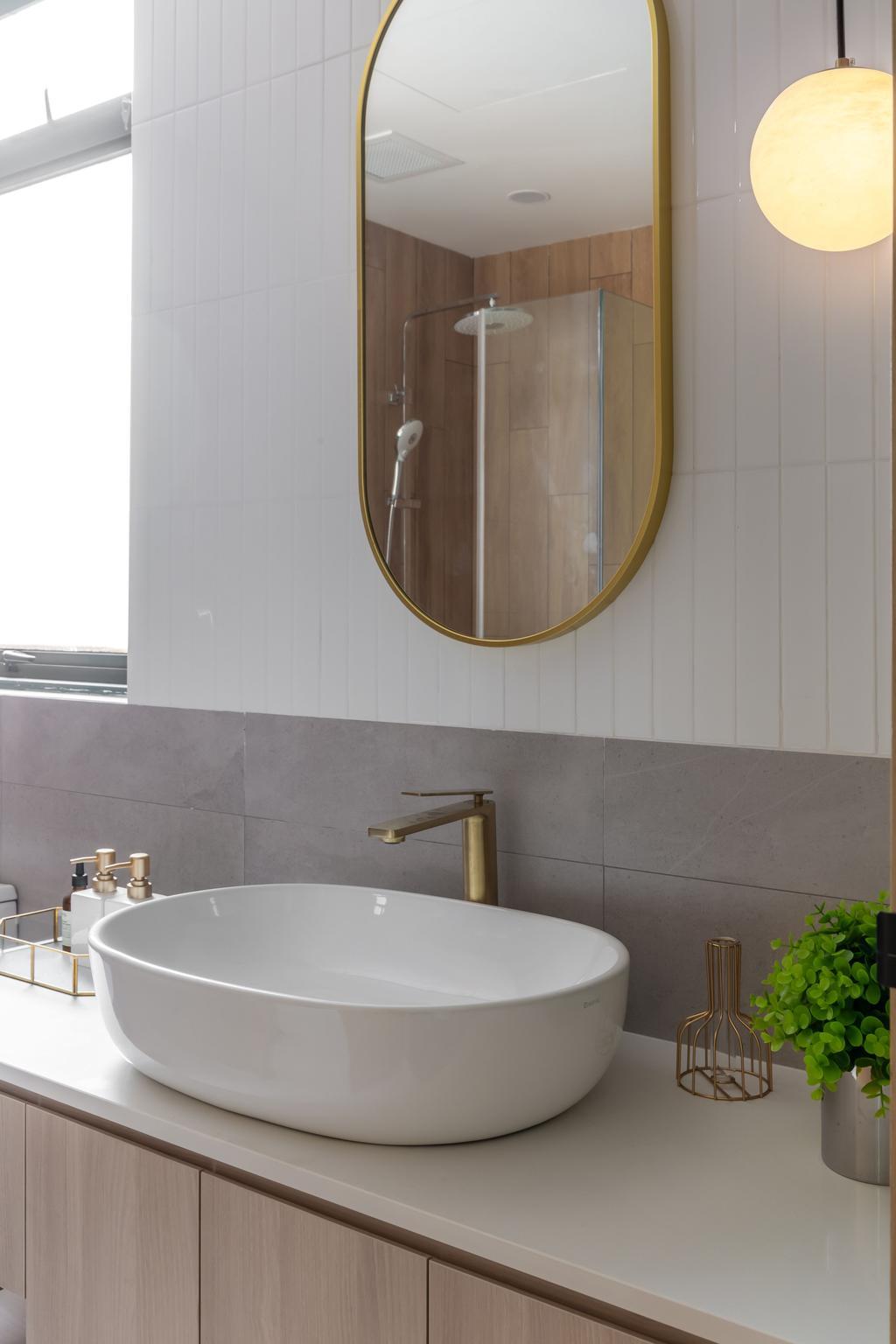 Contemporary, Condo, Bathroom, Thomson 800, Interior Designer, Atum Interior