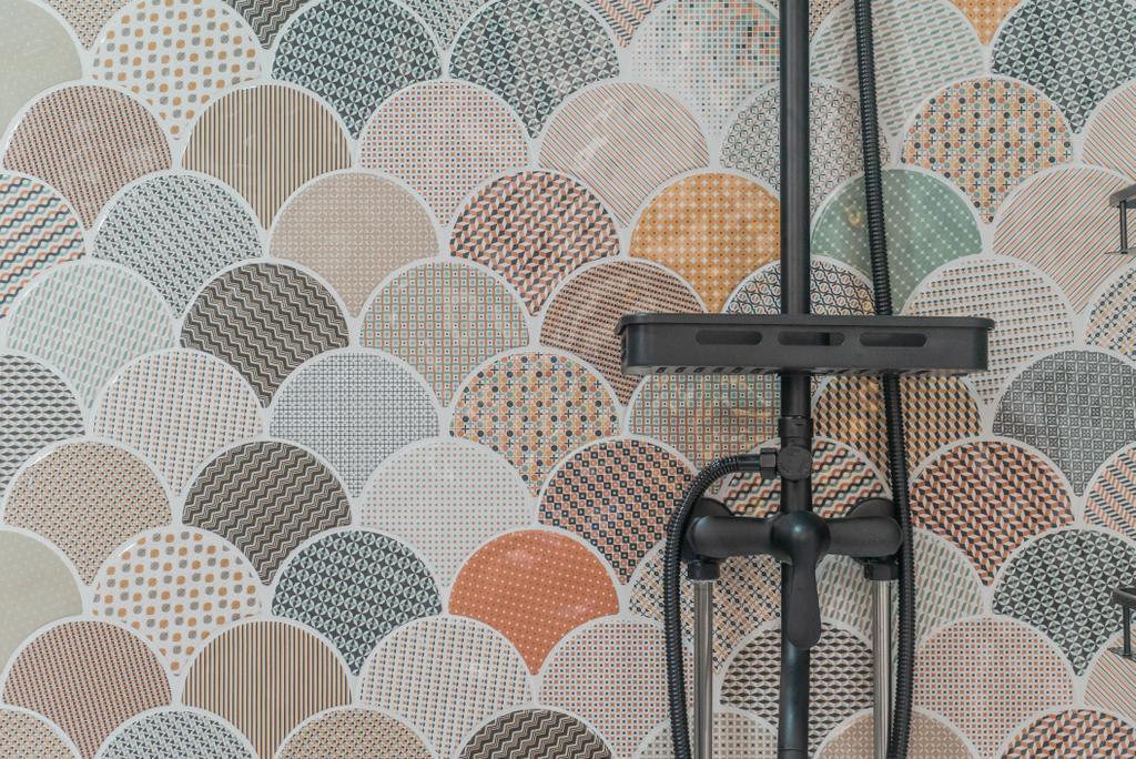 Contemporary, HDB, Bathroom, Simei Street 1, Interior Designer, Kingsley Interior, Industrial