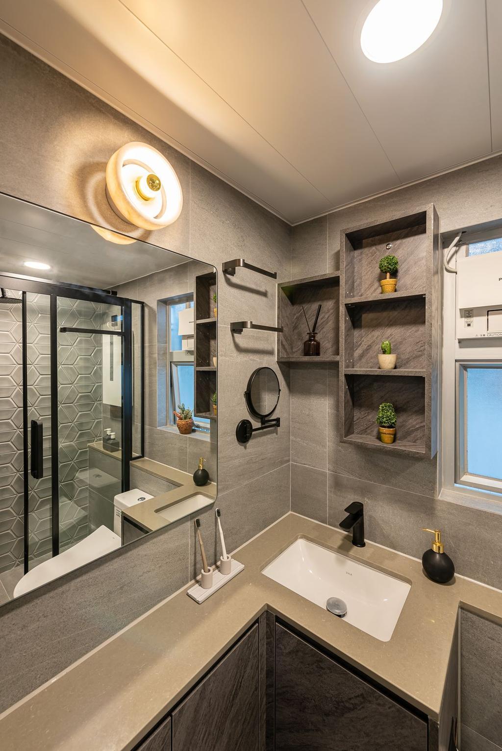 摩登, 私家樓, 港灣豪庭, 室內設計師, Deco Farmer Studio, 北歐