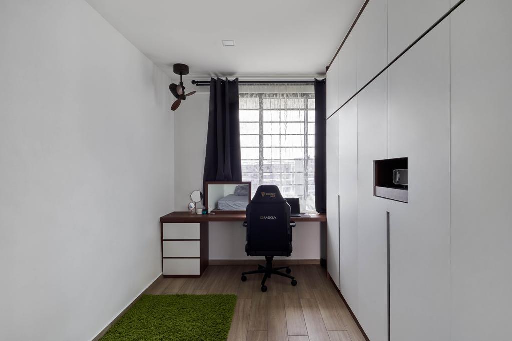 Contemporary, HDB, Study, Jurong West Street 91, Interior Designer, Ethan Interiors