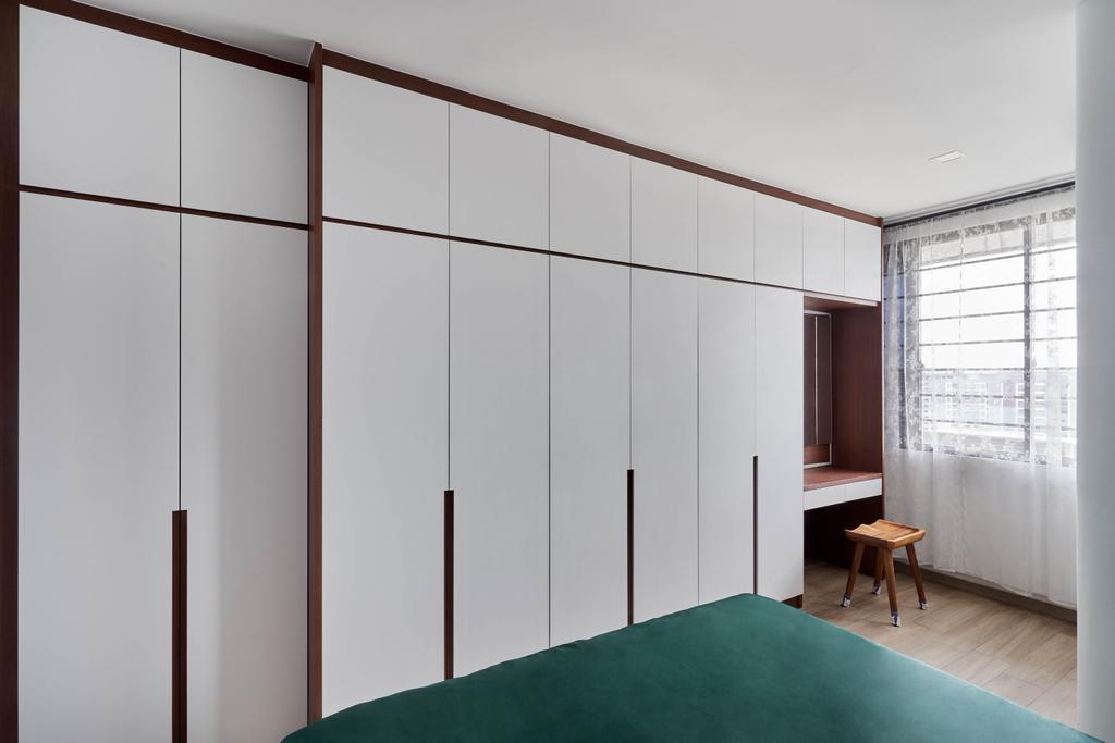 Contemporary, HDB, Bedroom, Jurong West Street 91, Interior Designer, Ethan Interiors