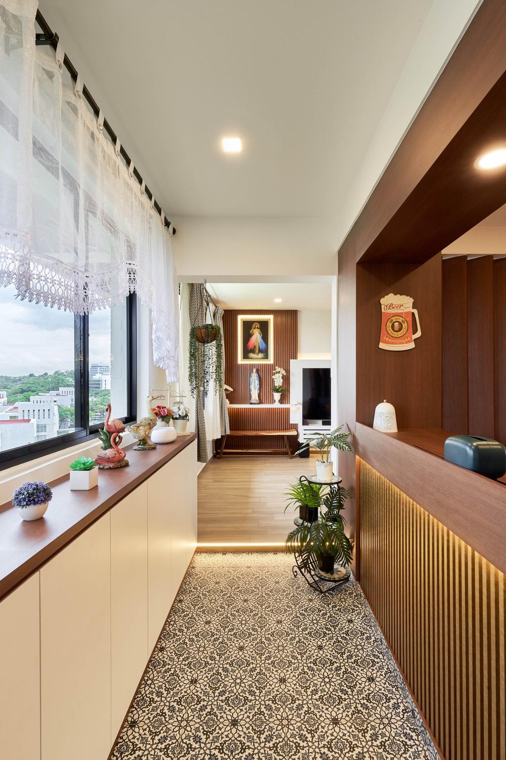 Contemporary, HDB, Living Room, Jurong West Street 91, Interior Designer, Ethan Interiors