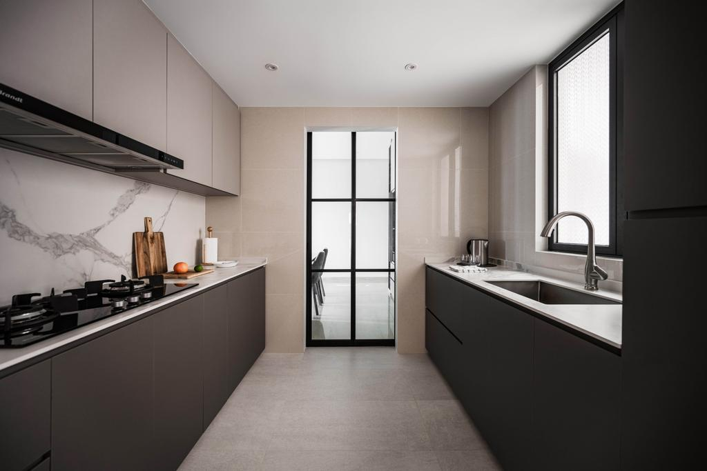 Contemporary, Condo, Kitchen, Haig Court, Interior Designer, Carpenters 匠
