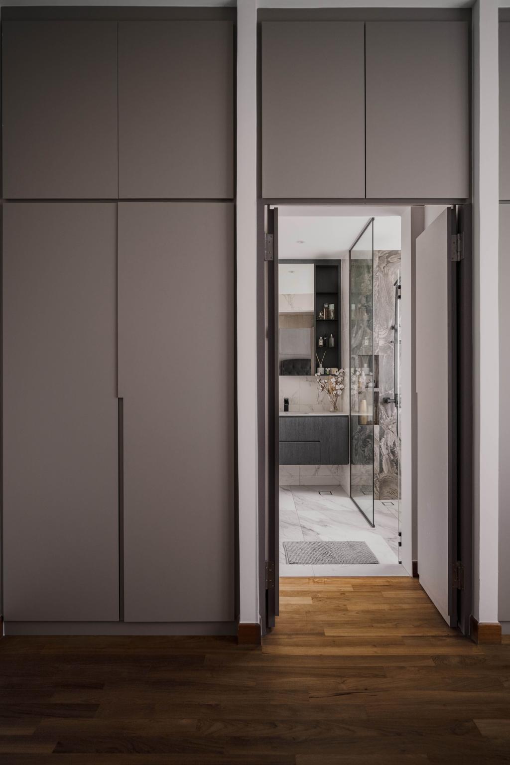 Contemporary, Condo, Bedroom, Haig Court, Interior Designer, Carpenters 匠