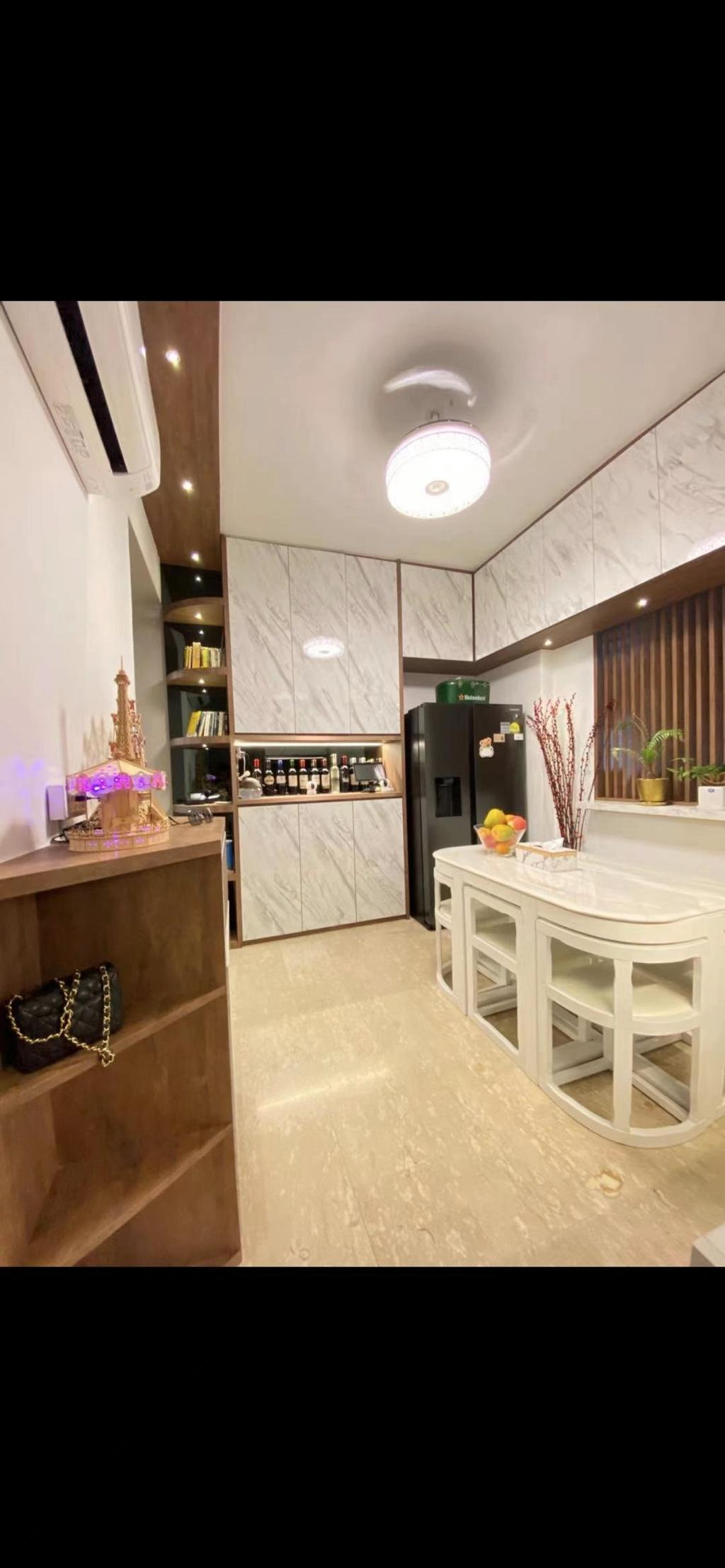 Modern, Condo, Dining Room, Telok Kurau, Interior Designer, ShiCheng Interior Design