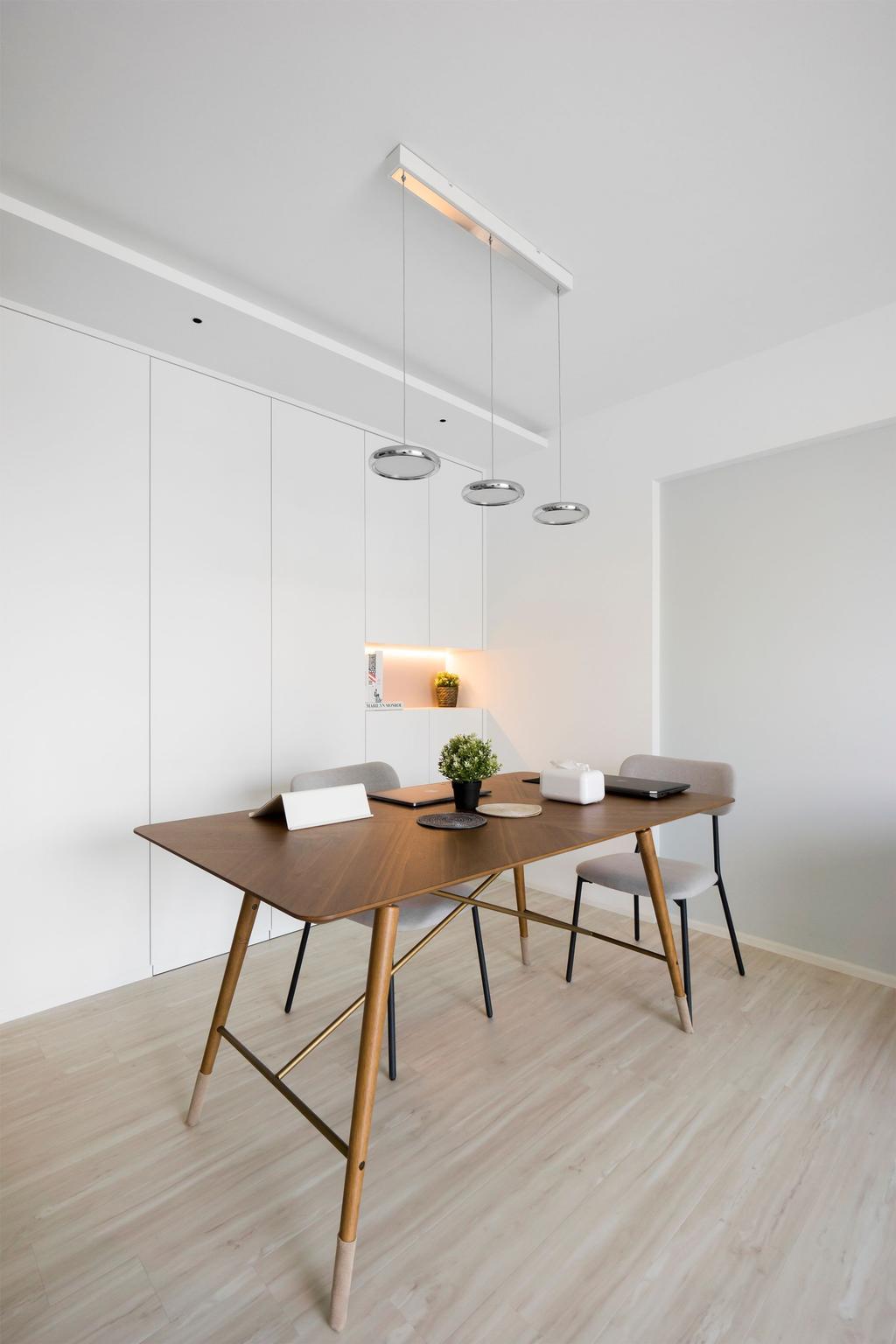 Minimalist, HDB, Dining Room, The Pinnacle @ Duxton, Interior Designer, Flo Design, Scandinavian
