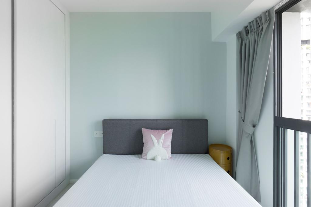 Minimalist, HDB, Bedroom, The Pinnacle @ Duxton, Interior Designer, Flo Design, Scandinavian