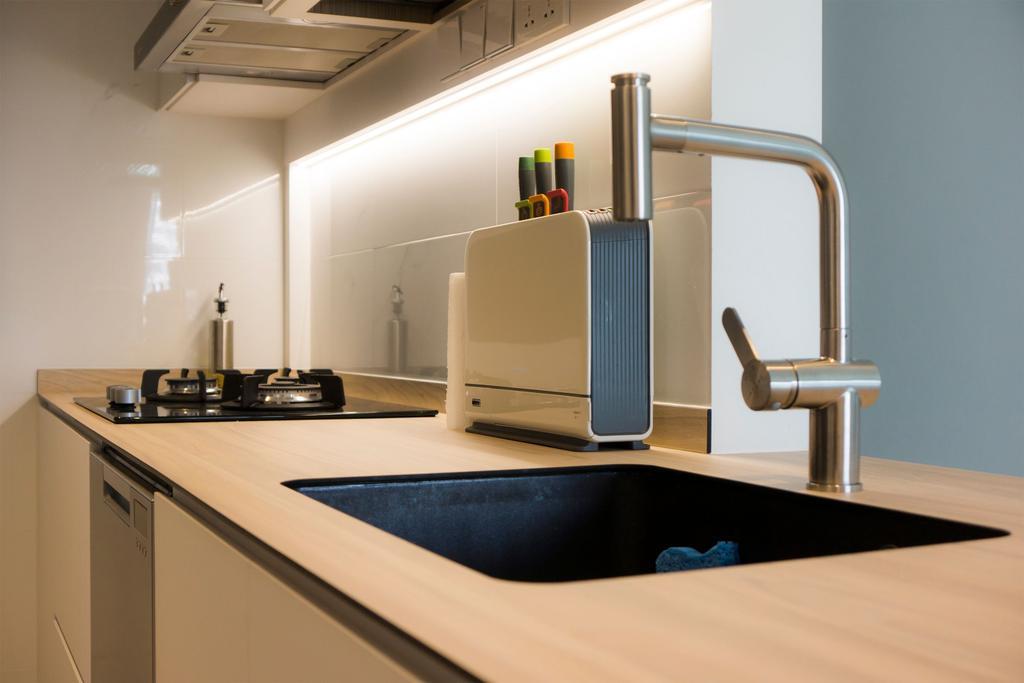 Minimalist, HDB, Kitchen, The Pinnacle @ Duxton, Interior Designer, Flo Design, Scandinavian
