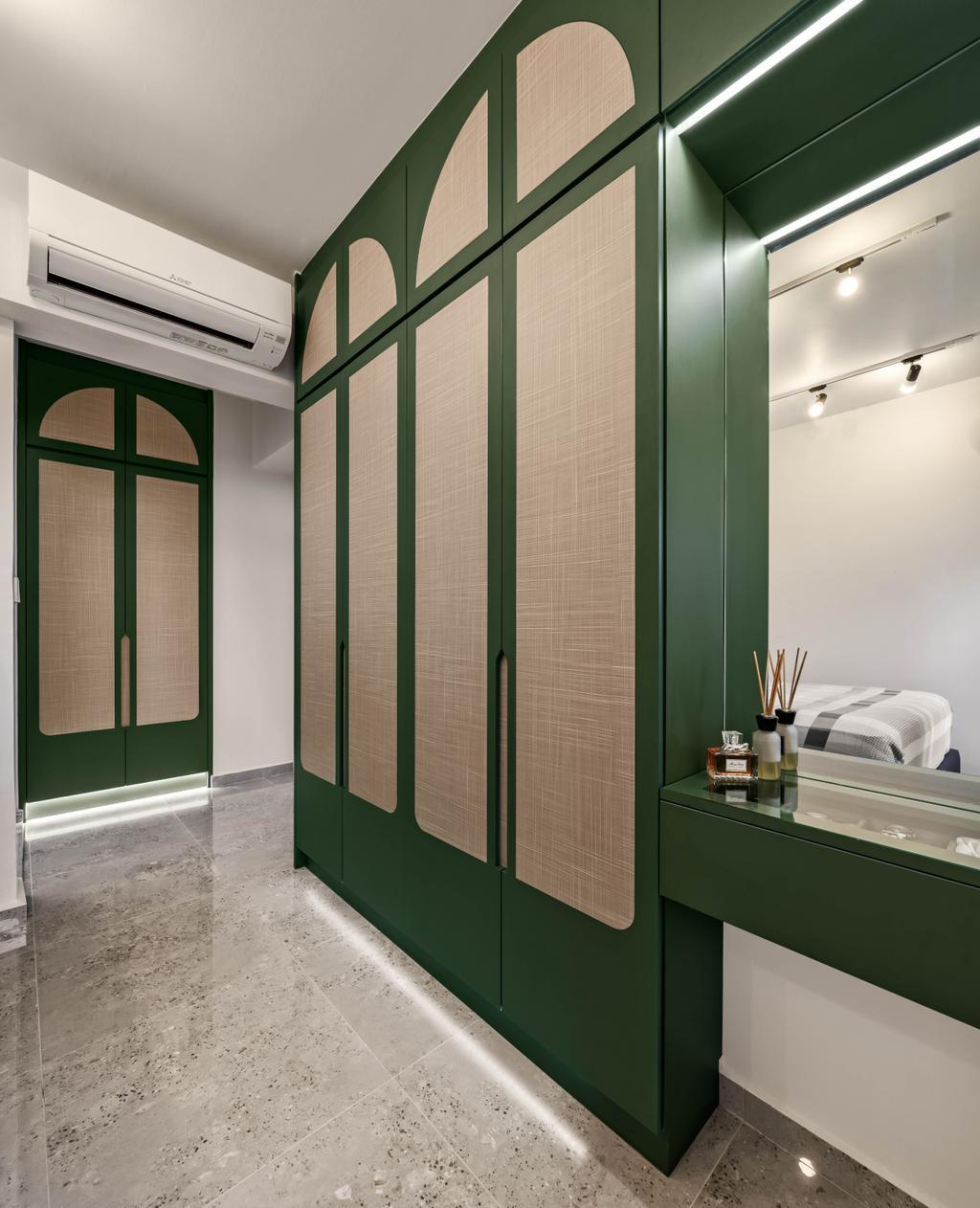 Eclectic, HDB, Bedroom, Bidadari Park Drive, Interior Designer, Zenith Arc, Contemporary