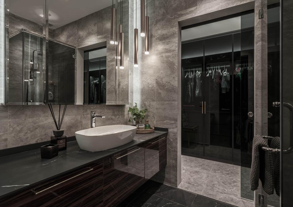 Contemporary, Condo, Bathroom, Hillview Rise, Interior Designer, Weiken.com