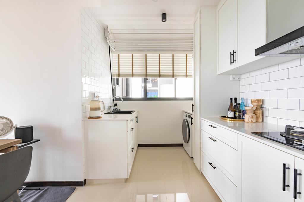 Minimalist, HDB, Kitchen, Skyparc @ Dawson, Interior Designer, Livspace