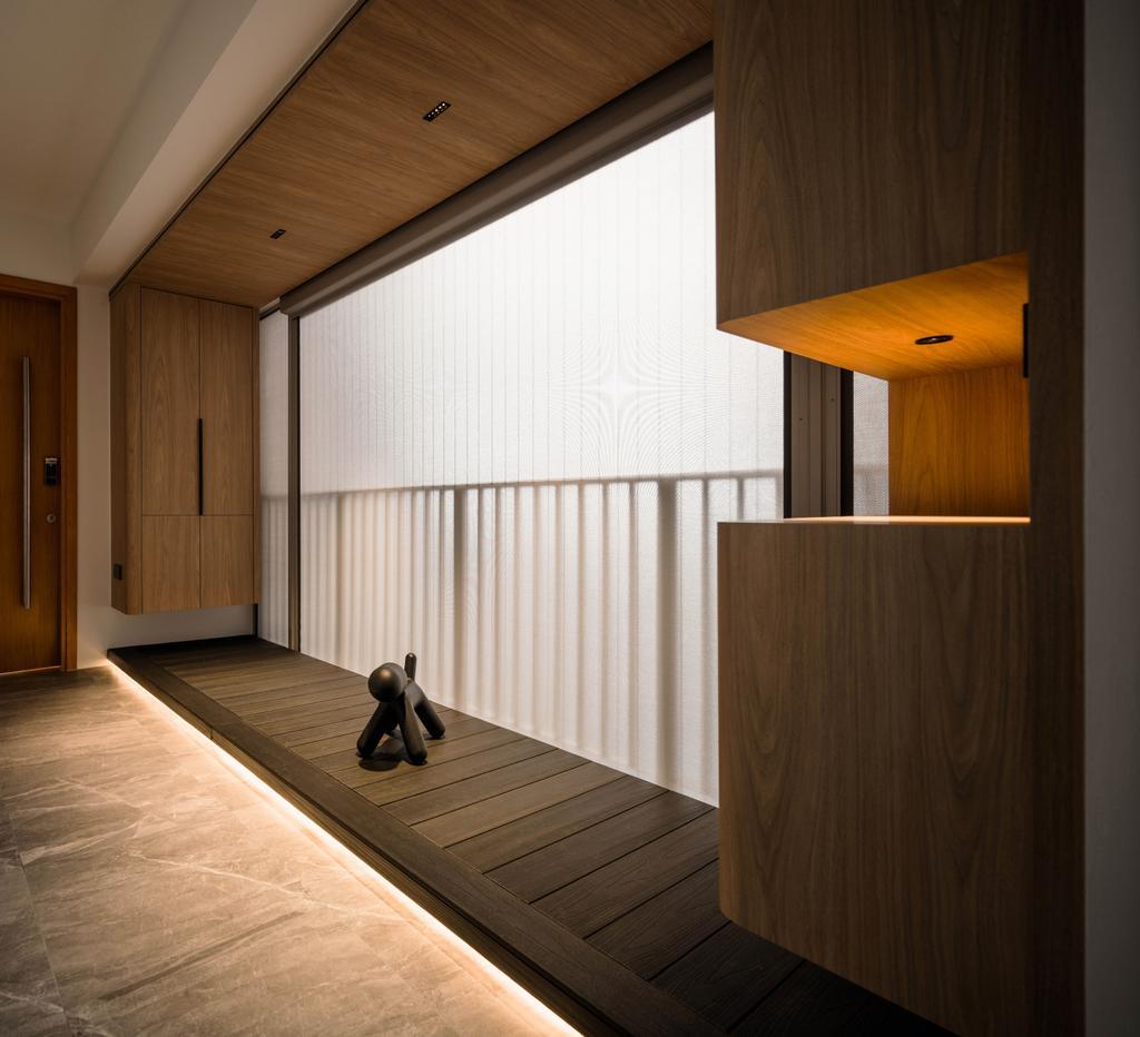 Contemporary, Condo, Balcony, Clover By The Park, Interior Designer, KDOT